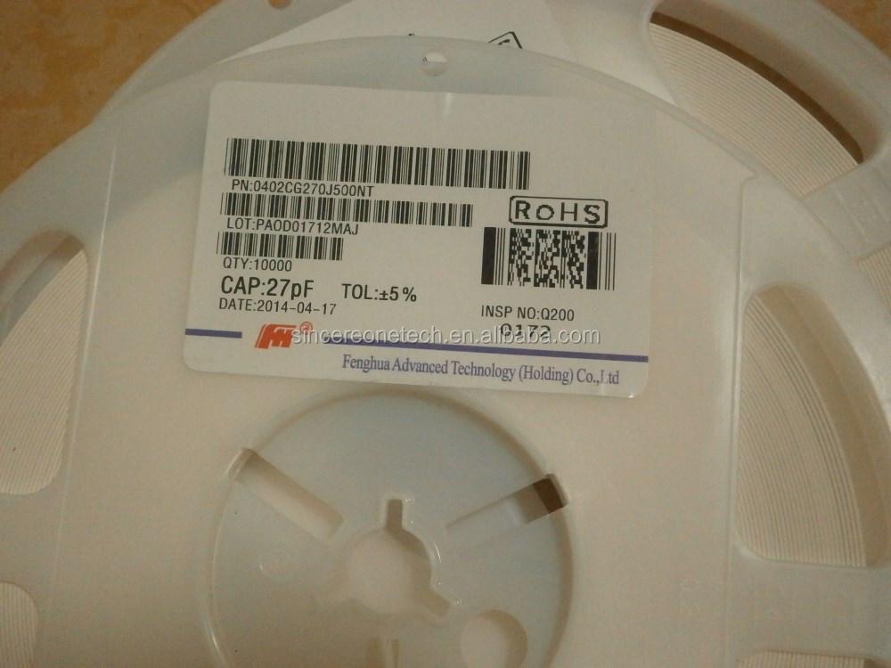 100PCS 0402 SMD Chip Ceramic Capacitor 680PF 50V ±10/% 681K
