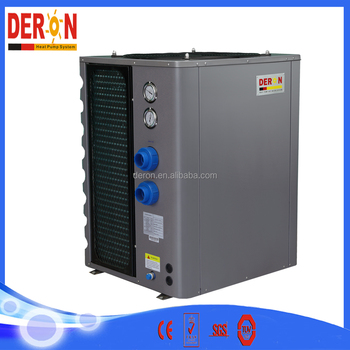 Dc Inverter Swiming Pool Heater Heat Pump For Heating Pool Spa And Sauna Metal Shell Buy