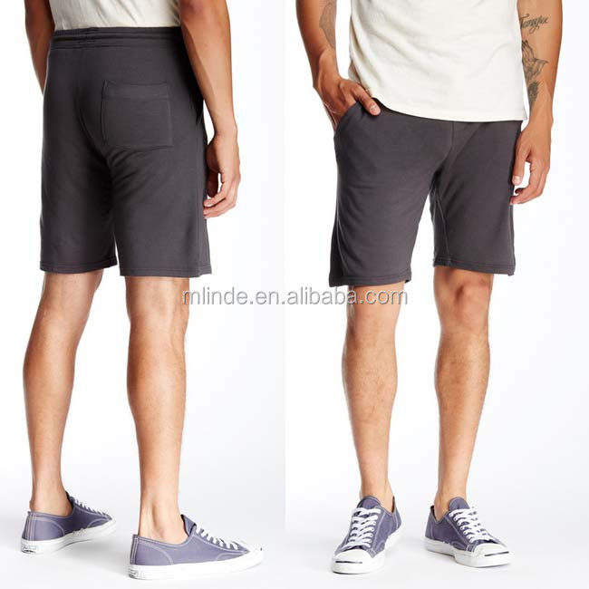 Wholesale Custom High Quality Terry Short for Men's Casual Style Clothing Custom Made Shorts with Pocket