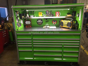Us General Tool Box Parts Power Coating 72 Quot Tool Trolley