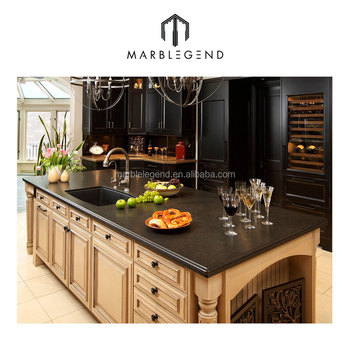 Schwarz Farbe Naturstein Granit Küchenarbeitsplatte Preis - Buy ...