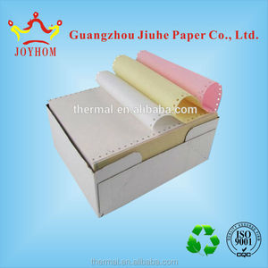 Best sale computer carbonless/ncr paper colors roll multi-ply printing computer paper