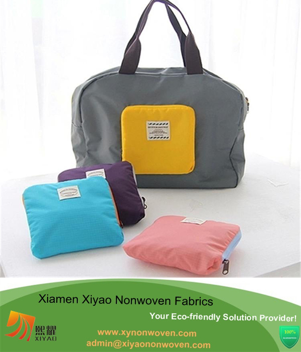 Recycle Foldable Fashion High Quality Grocery Shopping Tote Travel Bags
