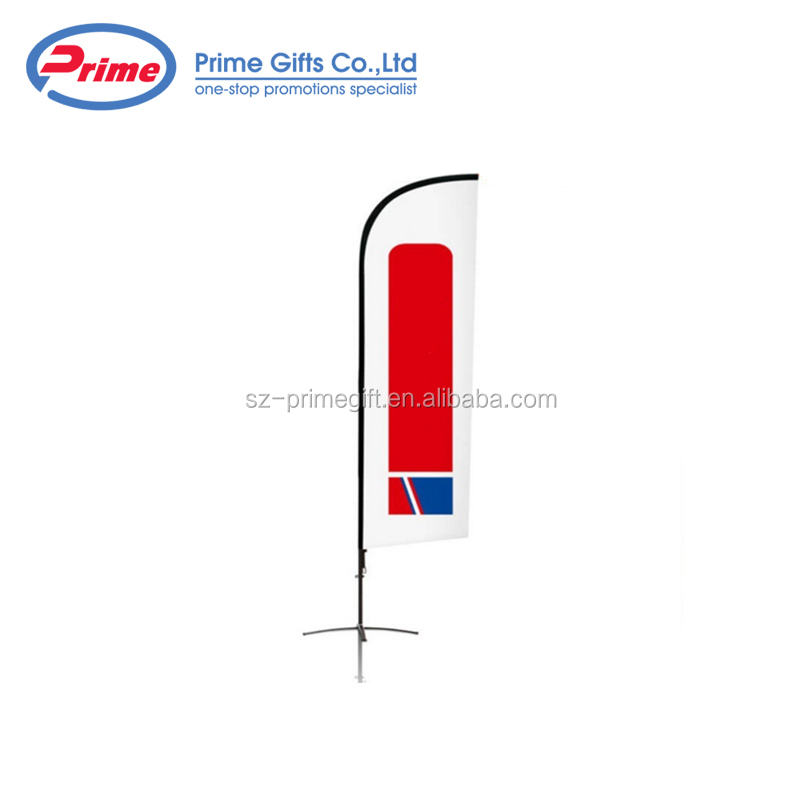 2020 Hot Sale Advertising Beach Feather Flag with Your Logo