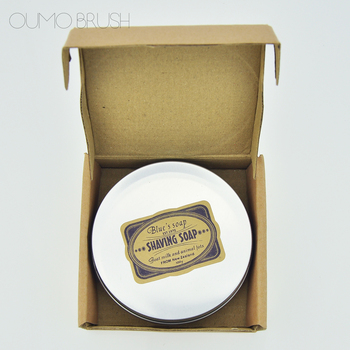 Professional handmade shaving soap shaving cream with tin box accept private logo