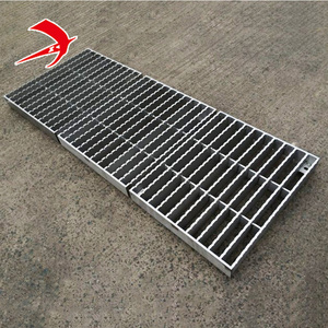 Philippines galvanized steel grating weight road grates metal steps