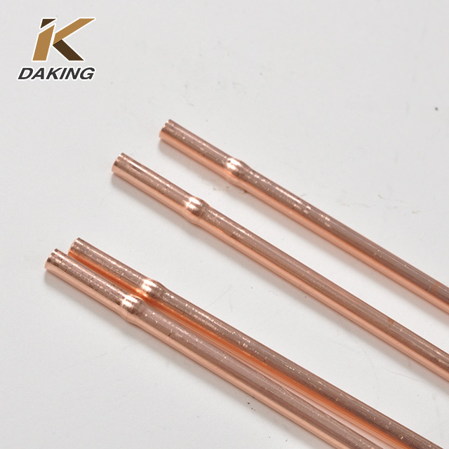 ASTM B280 Capillary customized copper pipe
