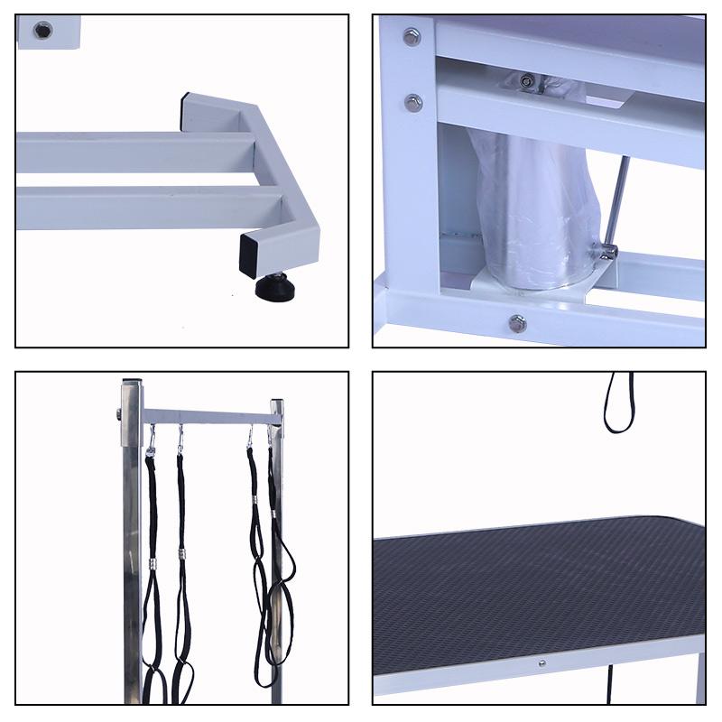 黒ステンレス鋼アイオロスペット犬油圧グルーミングテーブル