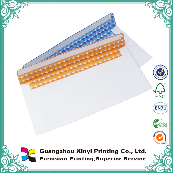 Custom wholesale high quality cheap a4 c4 dl large shipping paper color envelope