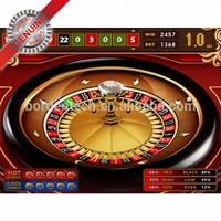 "32"" roulette wheel European roulette game card Royal Club video roulette board software - Single player touch screen"