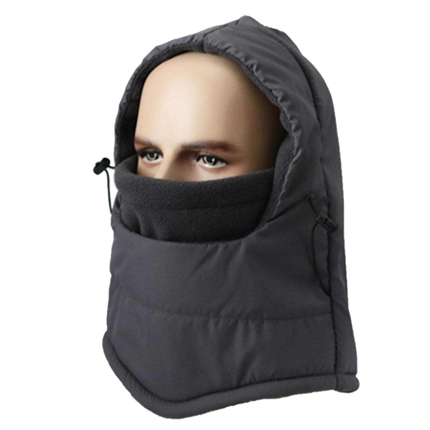 Get Quotations · Leories Winter Balaclava Heavyweight Fleece Cold Weather  Face and Neck Mask 3f7df55426e