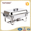 Silver plated food warmer hot pot buffet server pans