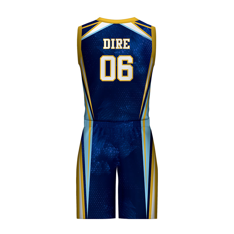 basketball jersey uniform design color blue