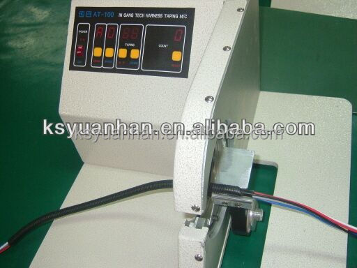Wiring Harness Wrapping Machine : Best price semi automatic wire spot taping machine