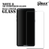 vmax case friendly Full Cover 3D Curved 9H tempered glass screen protector for samsung note 8