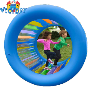 Inflatable roller ball soccer land water kids zorb ball