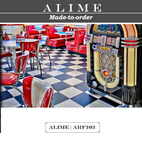 ALIME ARF103 custom American retro diner seating furniture for sale