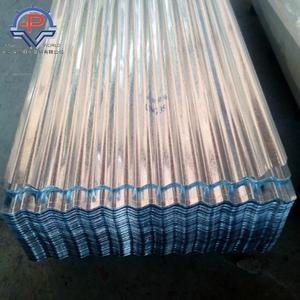 28 Gauge Aluminum Corrugated Steel Roofing Sheet