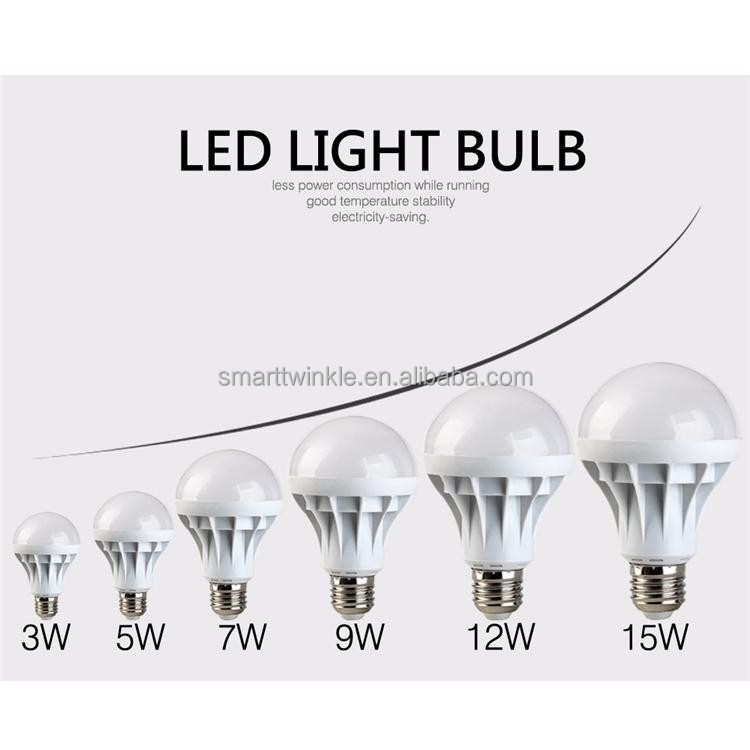 2017 best selling products 3W 5W 7W 9W LED bulb light Aluminium-plastic Lamp Body Material LED high brilliance Bulb