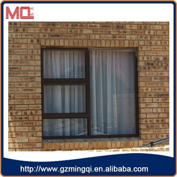 New Design Energy Efficient Double Glazing Glass Wooden Window
