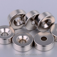 Super Strong Sintered Customized Industrial ndfeb special shape
