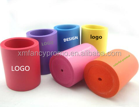 NBR foam beer coolies/can coolers/foam can holder with custom any design printing