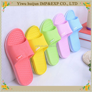 Fashion Lovely Skidproof Designed Beach EVA Women Slipper Ladies Flat Plain Indoor Slipper