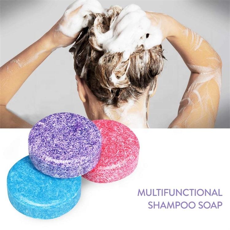 Hot Selling Wholesale OEM Private Label Paper Box Tin Box Bubble Hair Care Solid Soap Natural Organic Vegan Shampoo Bar