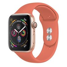 Мягкий ремешок для Apple Watch, 42 мм, серия 4 3, iwatch, 38 мм, 44 мм, 40 мм, браслет pulseira correa, аксессуары для смарт-часов, петля(Китай)