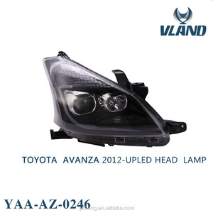 VLAND manufacturer Car Accessories Headlight 2012-2015 FOR AVANZA
