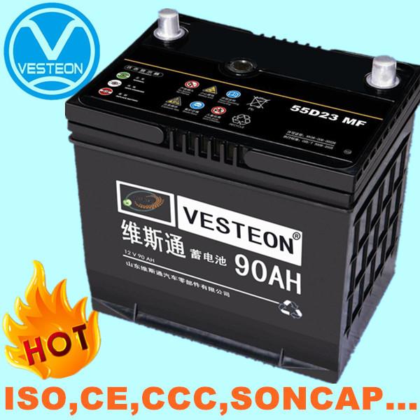 069 Titanium Car Sealed Battery 12V 68Ah