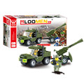 J321 Kids Favorites DIY 93pcs Field Armies Assemble Toy Early Educational Brinquedos Cannon Small Particles Building