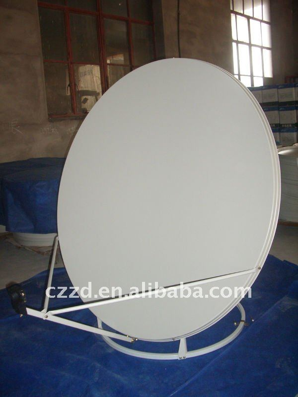 ku outdoor satellie dish antenna 100cm