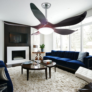Zhongshan Factory Supply 52'' Decorative Remote Control 220V Inverter Ceiling Fan