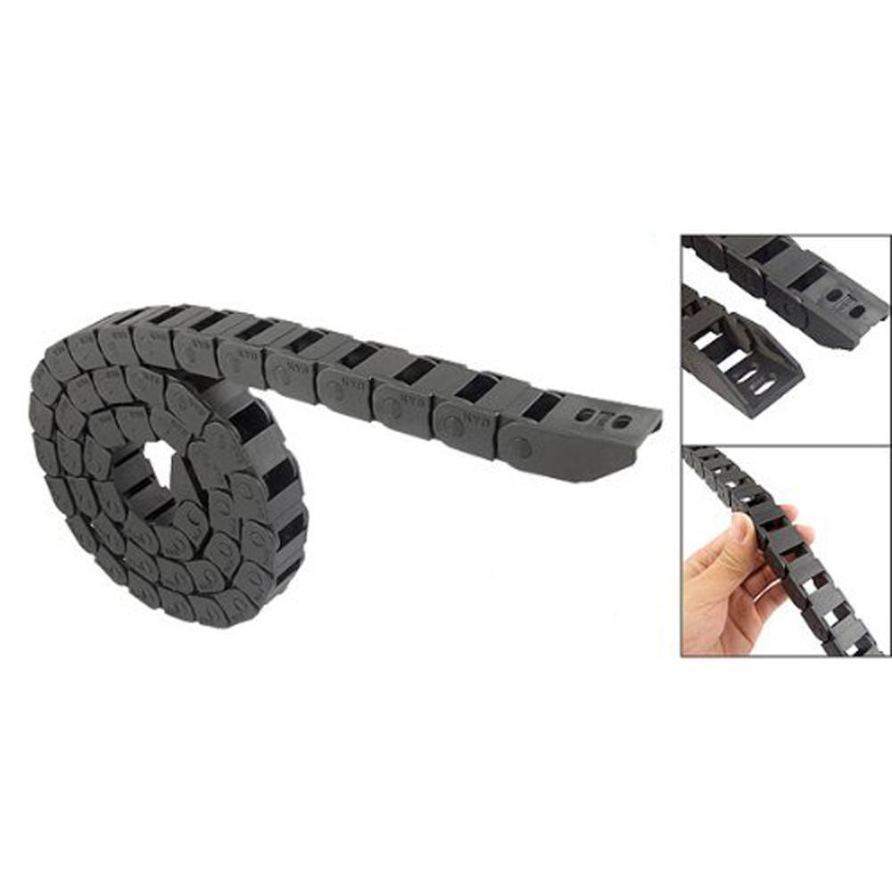 Сзс горячая 1 м длинные Blk пластиковые буксировочный канат кабель цепной 10 х 15 мм