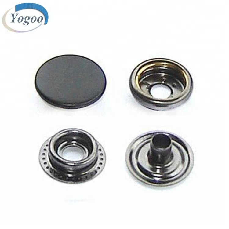 Factory Price Custom Round 10mm Gun Metal Strong Snap Button for Garment