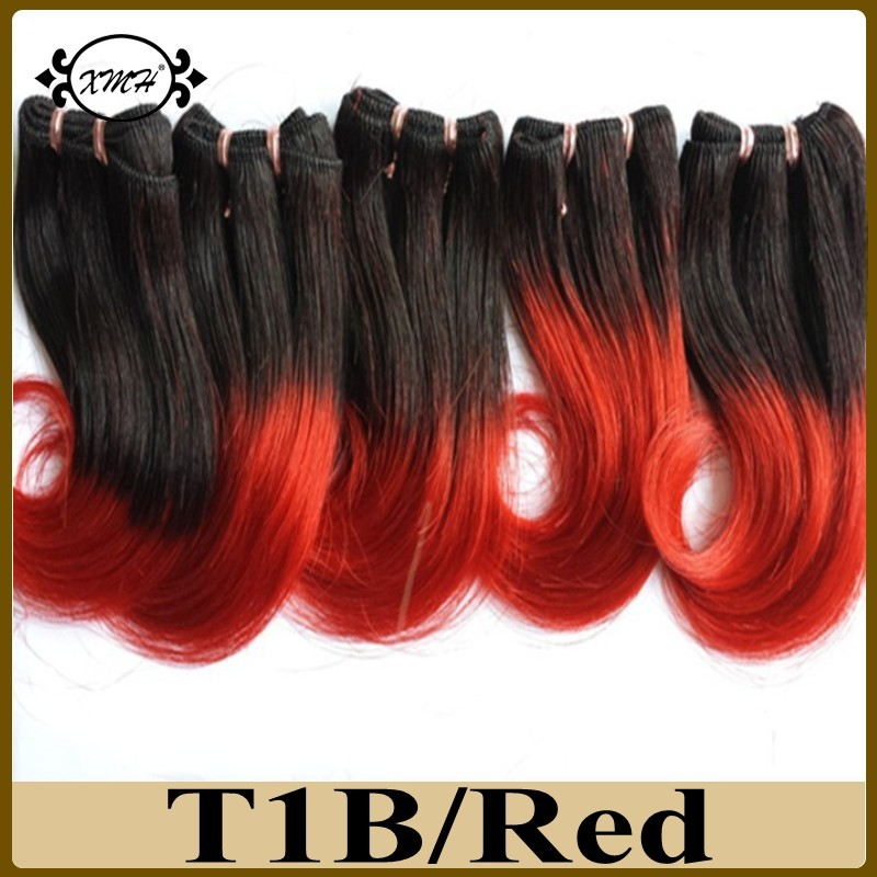 Unprocessed Brazilian Virgin Human Hair Body Wave Short Remy Hair Extension 7A Grade Ombre Color Hair Products