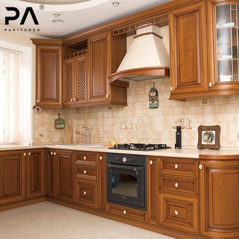 Light Blue L Shaped Knockdown Kitchen Cabinets - Buy Light Blue ...