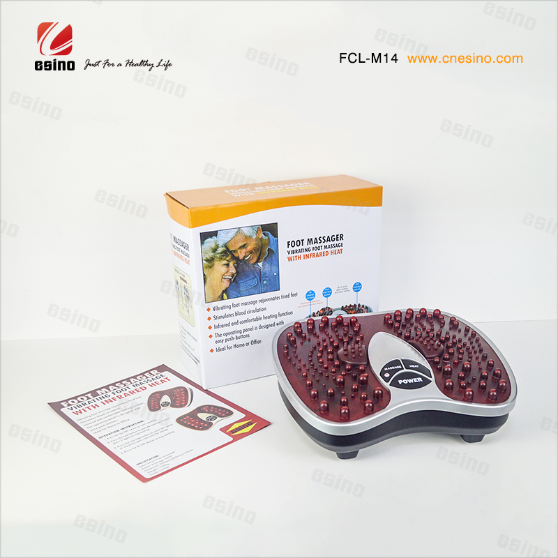 Christmas Gift! Infrared Heating Foot Care Machine Vibration Fitness Equipment from Chinese Supplier ESINO Manufacturer
