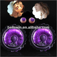 Silicone Vibrating Breast Sucking Nipple Massager Sexy Vibrator