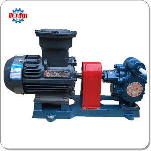 Electric self suction lubrication hydraulic lube oil transfer gear pump