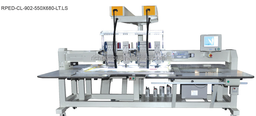 Digital Coiling Cord Embroidery Machine With Sequin Device