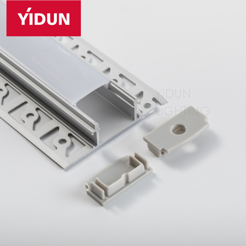 YIDUN Office Decoration Led Extrusion Profile For Ceiling/Recessed Wall Light