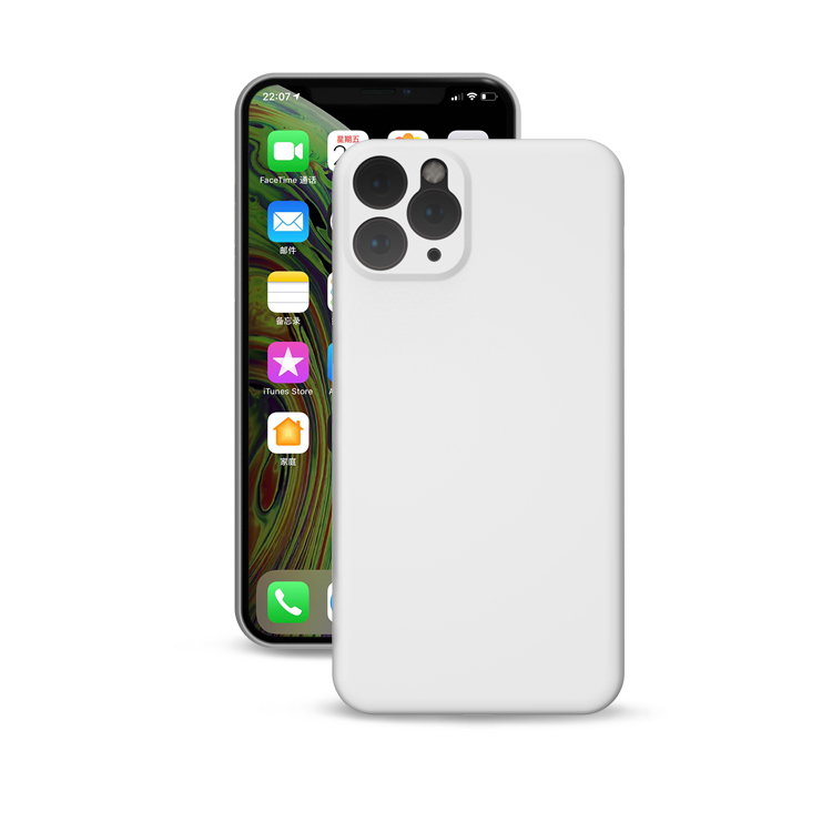 Blank cell phone case for iPhone 11 good grips touch feeling blank phone case cell phone for new iPhone XI 2019
