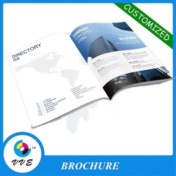 Hot Sale Custom Promotional Cheap Cost A A Free Sample Brochure