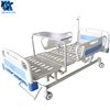 factory sale medical adjustable hospital manual hand 3 crank bed