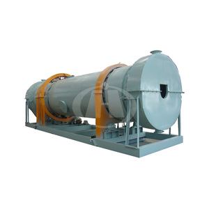 durable and efficient biomass rotary drum dryer in hot sale