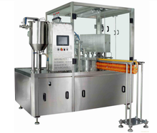 soybean milk spout pouch filling capping machine
