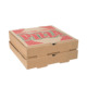 Custom food packaging pizza carton box design templates