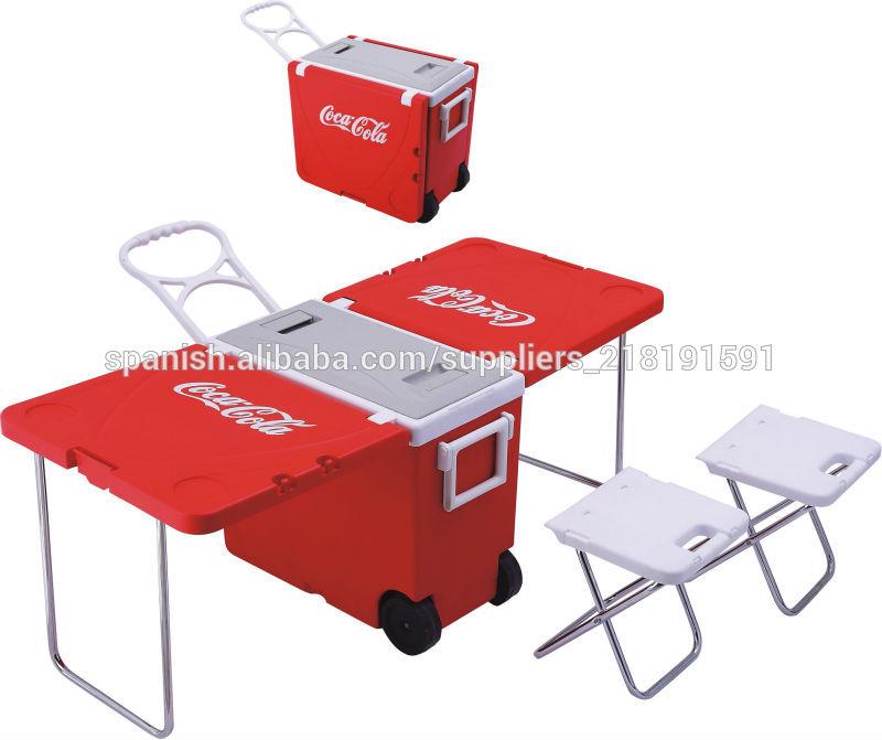 Mesa plegable caja de refrigerador mesa multifuncional - Silla de ruedas de transferencia plegable y portatil ...